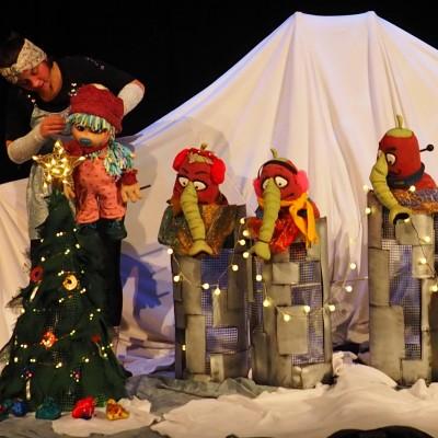 Das kleine Zottel Mottel feiert Weihnachten