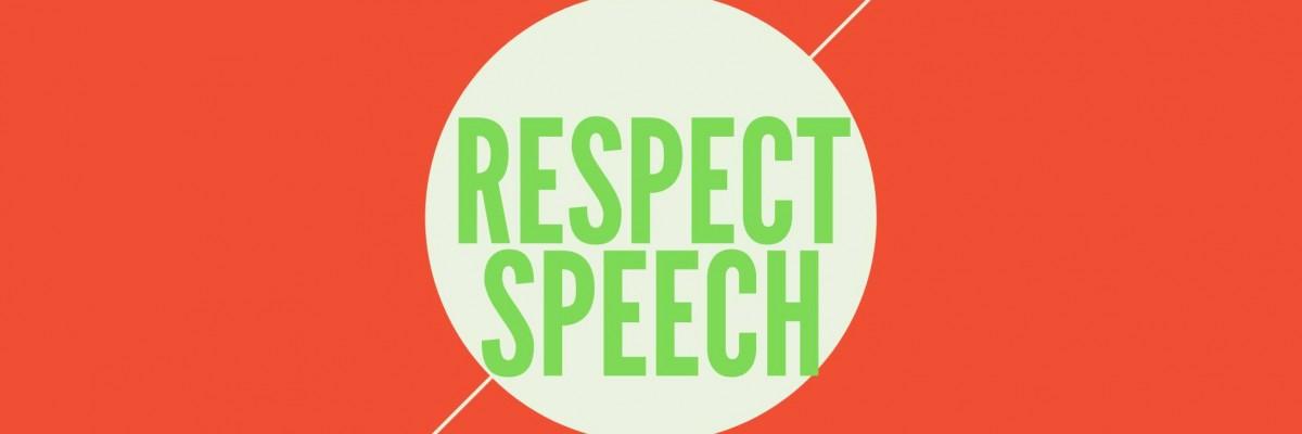 Titelbild zu #RESPECTSPEECH 3.0