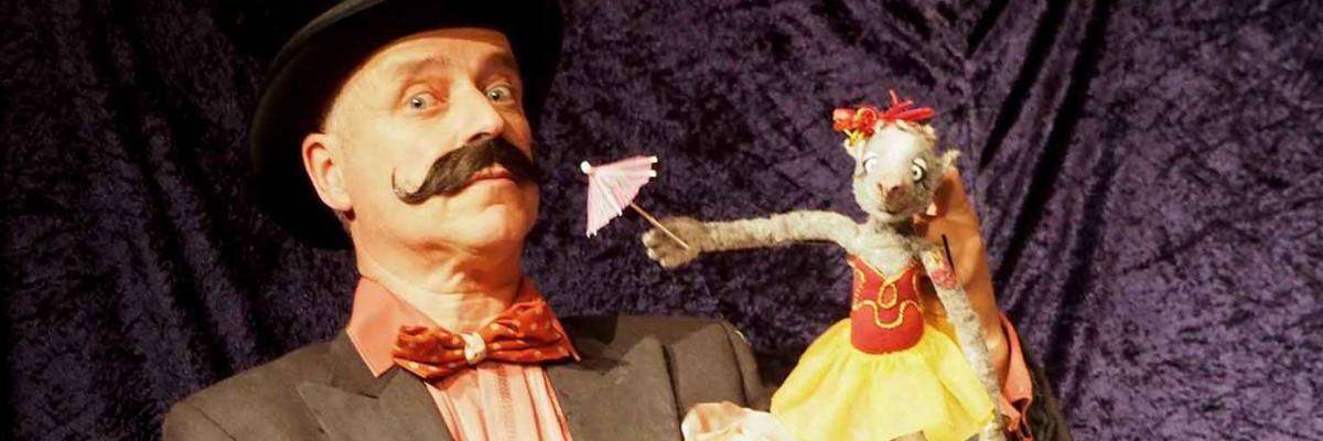 Titelbild zu Rufus und die Maus auf der Drehorgel